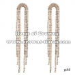 Long Rhinestone Fashion Lady Earrings
