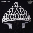 Wholesale High Quality Rhinestone Pageant Crowns