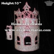 10inch Castle Crystal Pageant Crowns