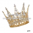 Full Round Pageant Crowns Made By Alloy And Loose Diamond