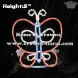 5inch Butterfly Spring Pageant Crowns