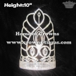 Unique Crystal Crowns With Adjustable Band