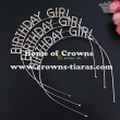 Fashion Rhinestone BIRTHDAY GIRL birthday tiaras
