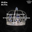 6in Height Full Round Pageant King Crowns