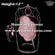 12inch Candy Cotton Pageant Crowns