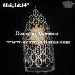 Wholesale 14in Height Rhinestone Sunshine Pageant Summer Crowns