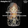 12in Height Crystal GLITZY GIRLS Stock Queen Crowns