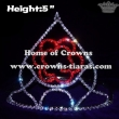 Crystal Red Rose Valentines Crowns