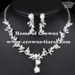 Beauty Bridal Wedding Necklaece Set