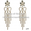 Rhinestone Fashion Show Earrings