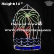 10inch Tall Plam Tree Summer Pageant Crowns