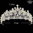 Hot Selling Crystal Flower Wedding Crowns