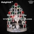 Christmas Pageant Crowns With Red Green Diamonds