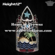12in Height Custom Pageant Summer Crowns