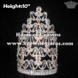 8in Stock Crowns Crystal Pageant Crowns