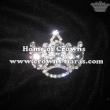 Crowns Pin With Big Diamond