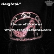 4in Mini Beauty High Heel Crystal Crowns