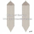 Wholesale Crystal Rhinestone Large Princess Earrings