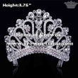 Clear Crystal Pageant Crowns With Big Diamonds