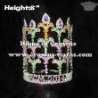 Rhonestones Fleur De Lis Pageant Crown