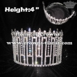 4in Queen Crystal Rhinestones Stock Crowns