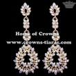 Wholesale Crystal Queen Earrings With AB Diamonds