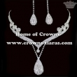 Wholesale Crystal Rhinestone Necklace Sets