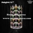 12inch Crystal Fleur De Lis Crowns