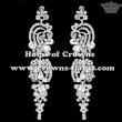 Wholesale Clear Crystal Bridal Earrings