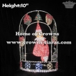 Wholesale Custom Christmas Clown Pageant Snowflake Crowns