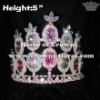 Wholesale Rhinestone Queen Crowns With Colored Diamonds