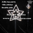 Crystal Star Shaped Pageant Scepters