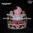 6in Height Crystal Cupcake Chocolate Pageant Crowns