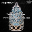Mask Peacock Beauty Unique Pageant Crowns