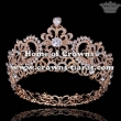 Alloy Crystal Pageant Full Round Queen Crowns