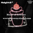 Cupcake Crystal Pageant Crowns