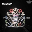 Custom Crystal Olympics Flame Pageant Crowns