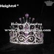 Crystal Rhinestone Purple Diamonds Pageant Crowns
