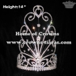 14inch Rhinestone Wholesale Crowns