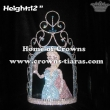 12inch Elsa Crystal Frozen Custom Crowns