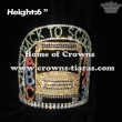 Back To School Crystal Pageant Crowns With Letter of ABC And 123