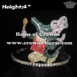 Crystal Rhinestone Alligator Pageant Crowns
