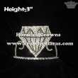 Small Rhinestone Diamonds Pageant Crowns