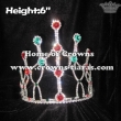 6inch Blue Green Diamond Crystal Crowns
