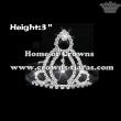 3inch Rhinestone Crystal Tiaras