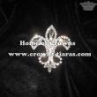 Crystal Fleur De Lis Pageant Sash Pins