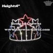 Red White Blue Star Pageant Crystal Crowns