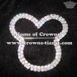Crystal Mickey Head Pageant Sash Pins