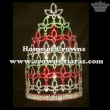 10in Height Clear Red Green Stock Pageant Crowns