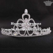3D Flower Crystal Princess Party Tiaras With Zircon Diamonds